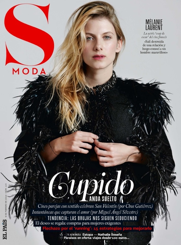 melanie laurent photo shoot9 Melanie Laurent Poses for Eric Guillemain in S Moda Spread