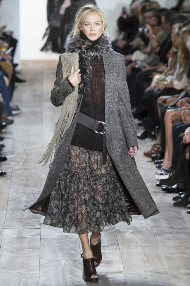 michael kors fall winter 2014 show1 Michael Kors Fall/Winter 2014 | New York Fashion Week