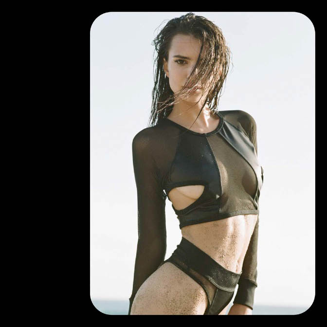 minimale animale spring 20149 Emily Ratajkowski is Ready for Beach Season in Minimale Animales Spring Lookbook