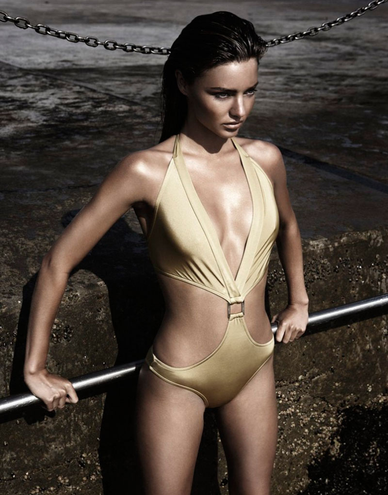 miranda kerr 2010 sam bisso3 Throwback Thursday | Miranda Kerr Sizzles in 2010 Swimwear Shoot
