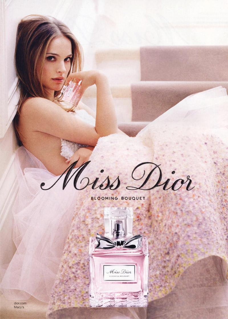 Natalie Portman in Miss Dior 2014 Fragrance Advertisement