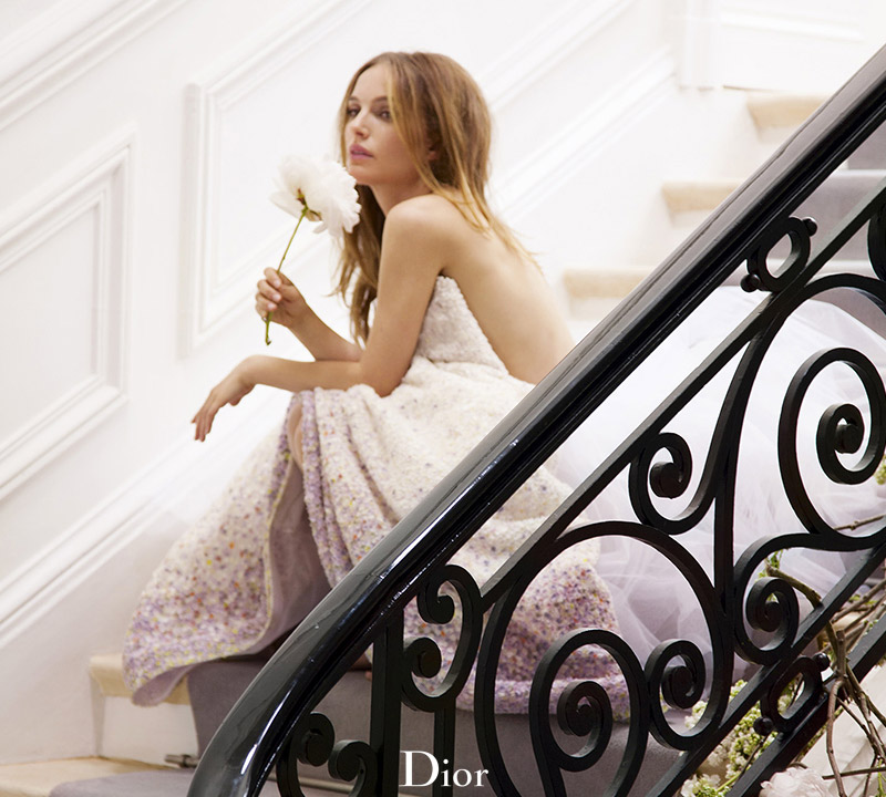 "Natalie Portman Enchants in ""Miss Dior Blooming Bouquet"" Perfume Shots"