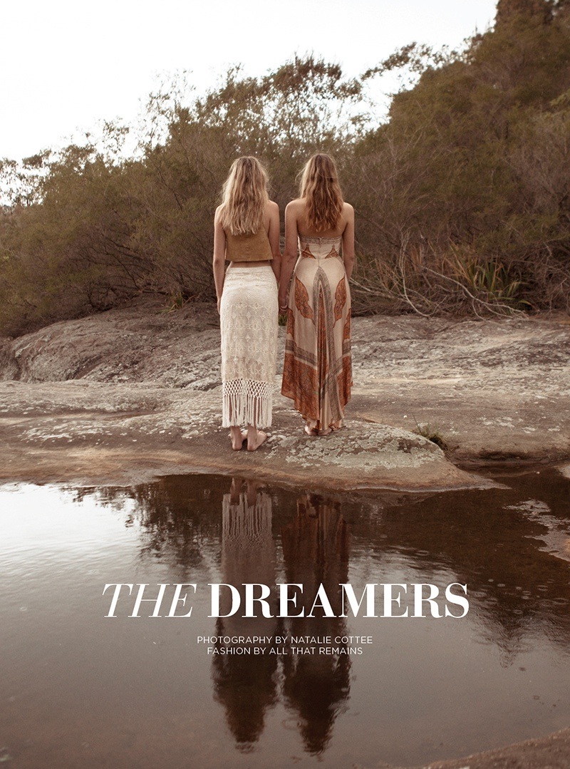 natalie cottee dreamers1 Abbie Weir & Taylah Roberts Are Dreamers for Natalie Cottee Shoot