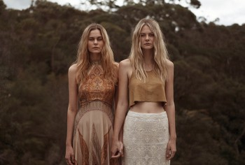 Abbie Weir & Taylah Roberts Are Dreamers for Natalie Cottee Shoot