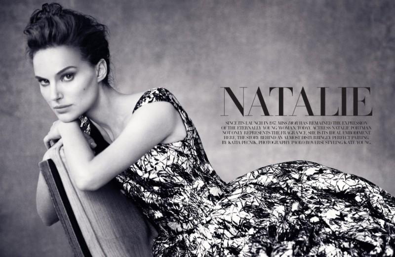 natalie portman dior magazine pictures1 800x521 Natalie Portman is a Vision for Dior Magazine by Paolo Roversi