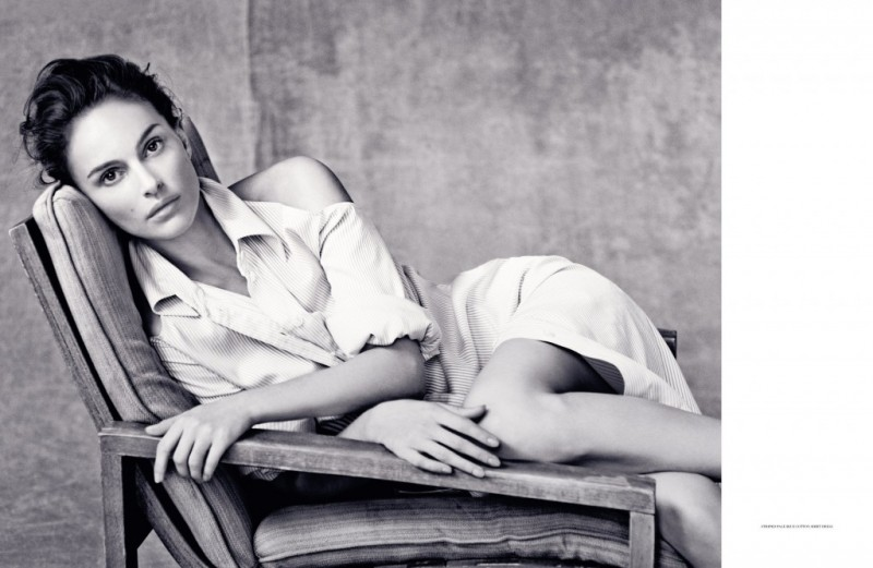 natalie portman dior magazine pictures2 800x521 Natalie Portman is a Vision for Dior Magazine by Paolo Roversi