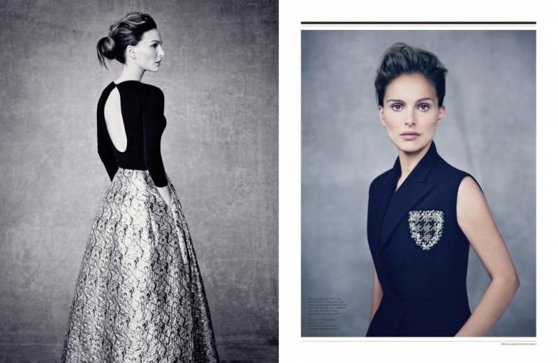 natalie portman dior magazine pictures3 800x521 Natalie Portman is a Vision for Dior Magazine by Paolo Roversi