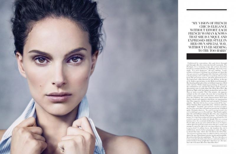 natalie portman dior magazine pictures4 800x521 Natalie Portman is a Vision for Dior Magazine by Paolo Roversi