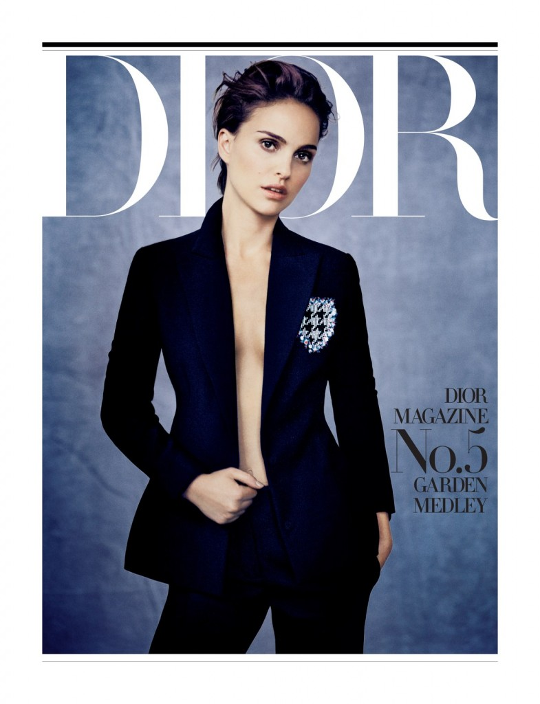 Natalie Portman is a Vision for Dior Magazine by Paolo Roversi
