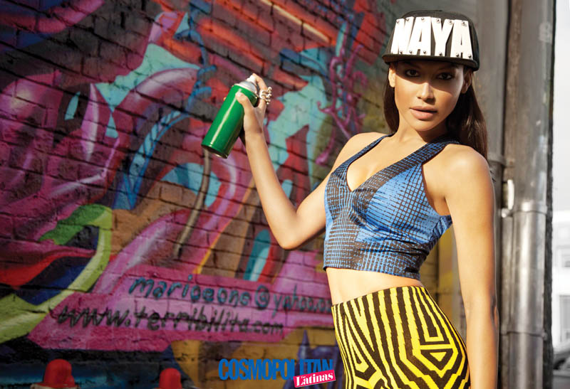 Naya Rivera Covers Cosmopolitan for Latinas, Talks Relationship with Big Sean