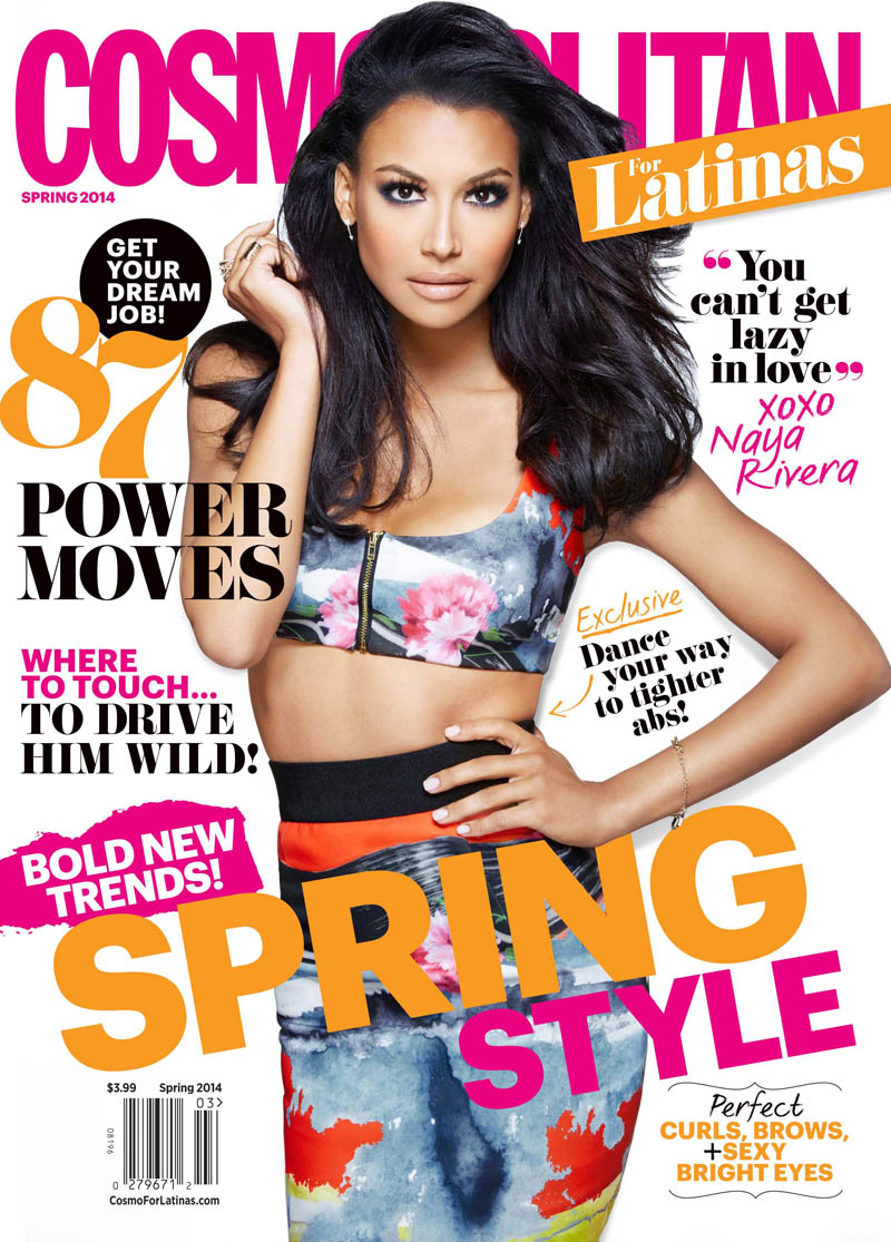 naya rivera cosmo4 Naya Rivera Covers Cosmopolitan for Latinas, Talks Relationship with Big Sean