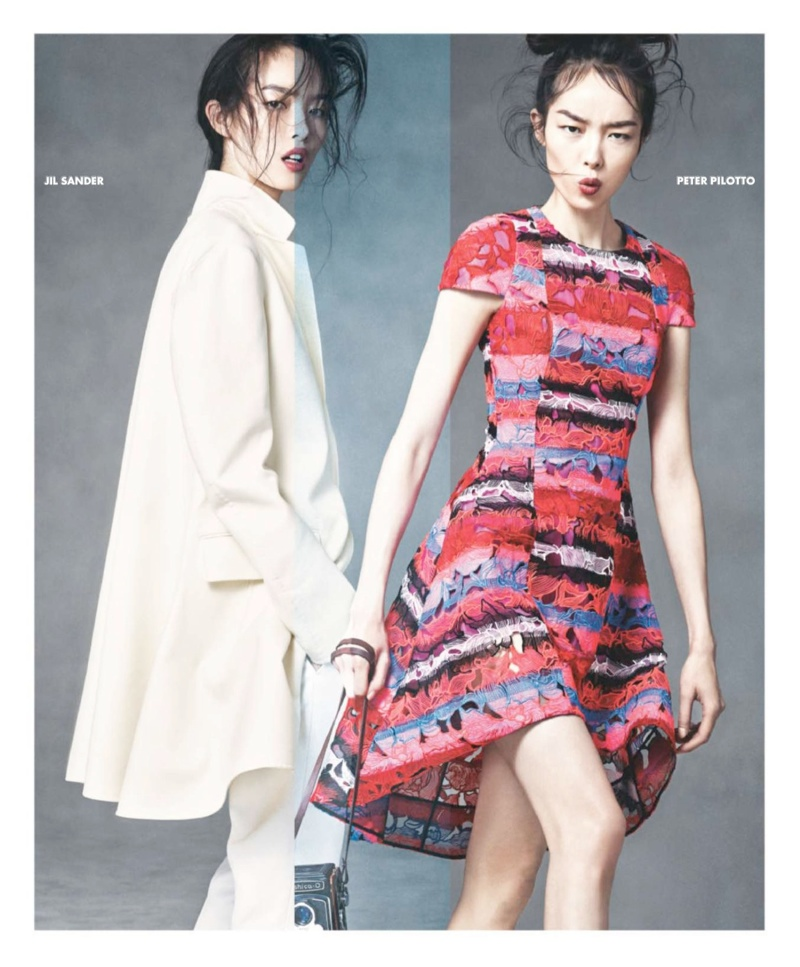 neiman marcus art fashion spring 2014 11 Ginta Lapina & Fei Fei Sun Star in Neiman Marcus Art of Fashion Spring 2014 Ads