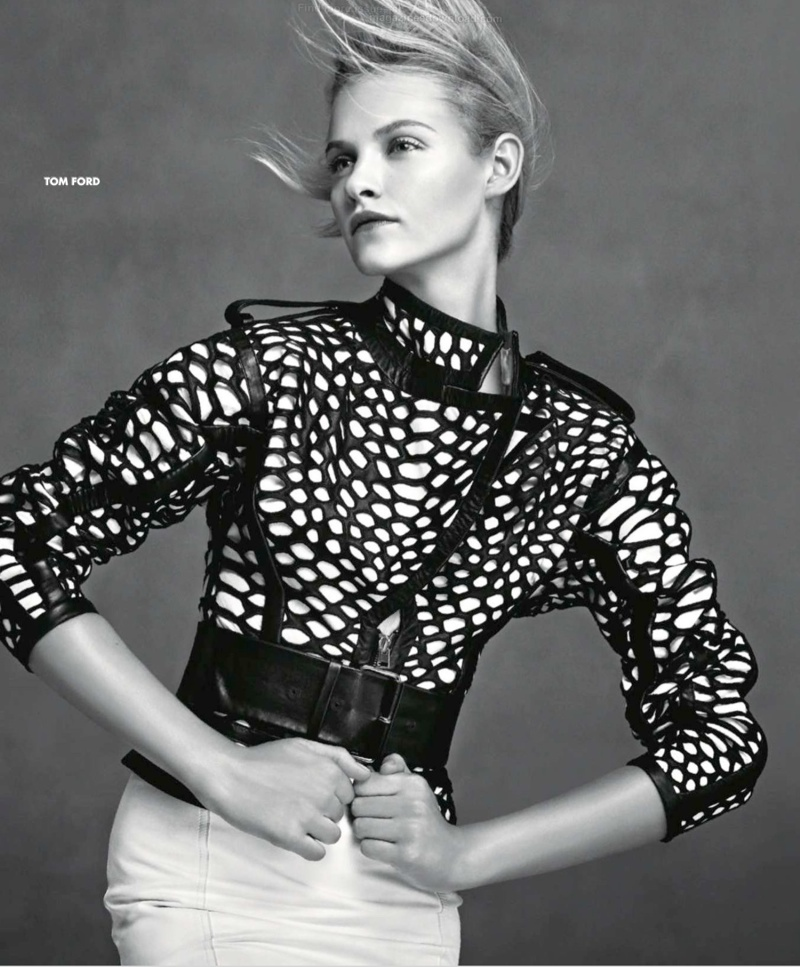 neiman marcus art fashion spring 2014 13 Ginta Lapina & Fei Fei Sun Star in Neiman Marcus Art of Fashion Spring 2014 Ads