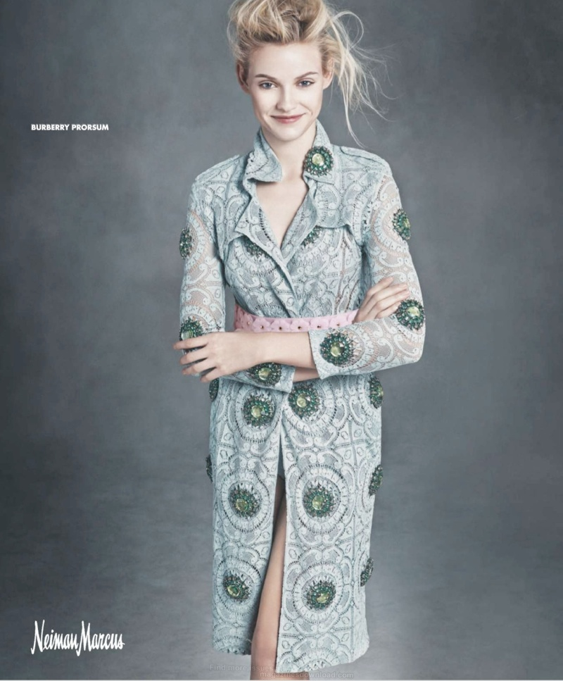 neiman marcus art fashion spring 2014 2 Ginta Lapina & Fei Fei Sun Star in Neiman Marcus Art of Fashion Spring 2014 Ads