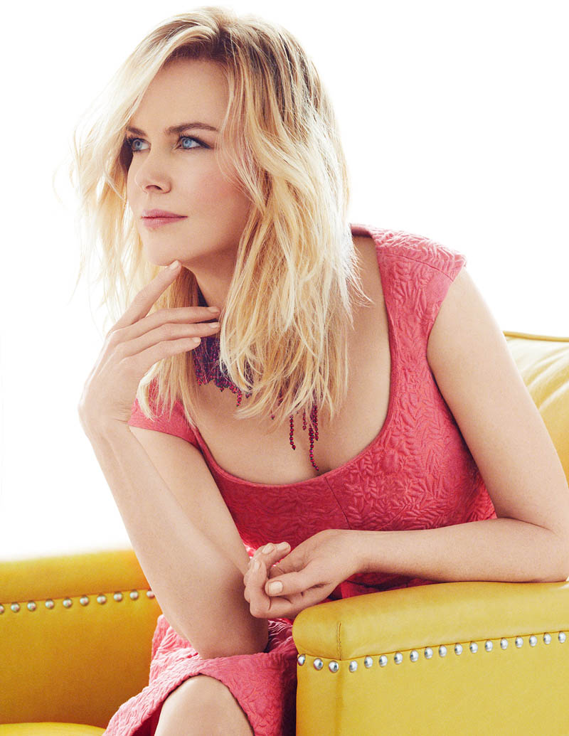 Spring Fling: Nicole Kidman Wears Pastels for InStyle by Greg Kadel
