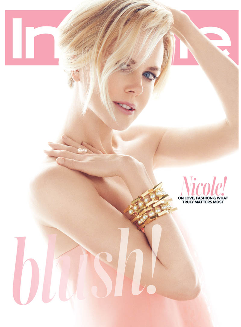 Nicole Kidman In Spring Pastels For Greg Kadel In Instyle
