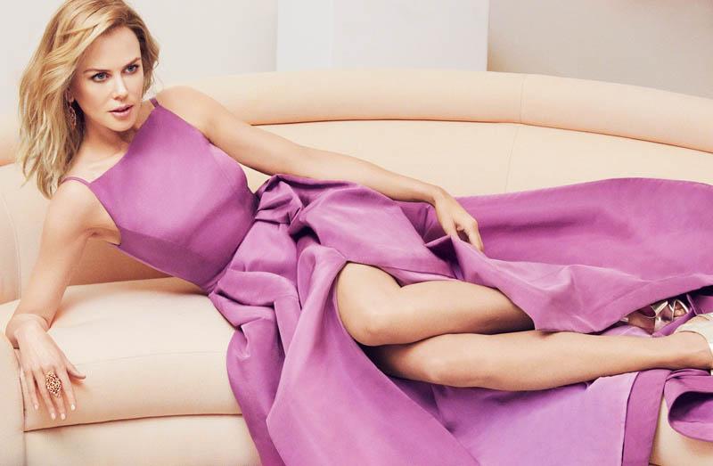 Spring Fling: Nicole Kidman Wears Pastels for InStyle by Greg Kadel