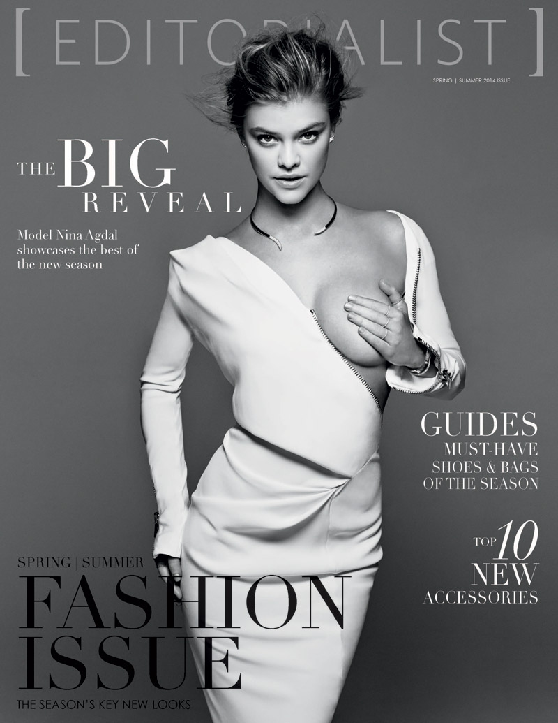 nina agdal editorialist cover Nina Agdal Stars on Editorialists Debut Print Issue Cover