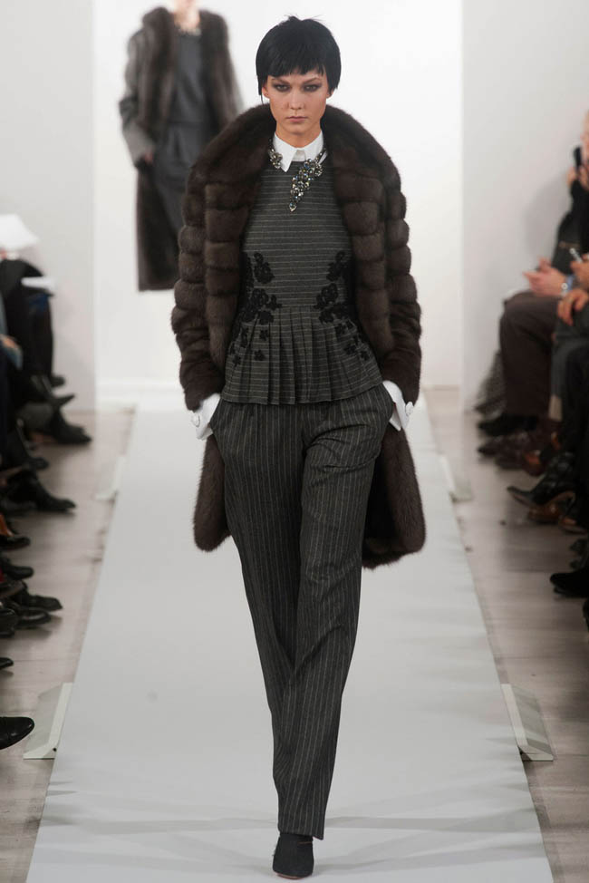 oscar de la renta fall winter 2014 show1 Oscar de la Renta Fall/Winter 2014 | New York Fashion Week