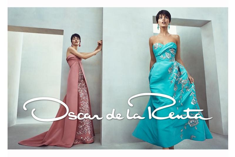 Emily DiDonato & Kate B. Star in Oscar de la Renta Spring/Summer 2014 Campaign