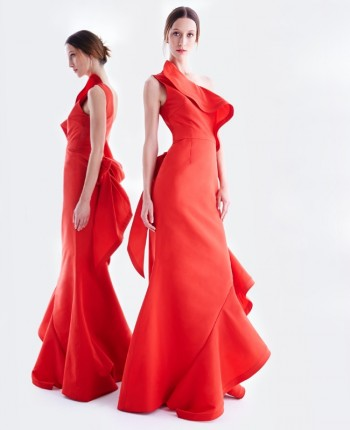 Alana Zimmer is a Vision in Oscar de La Renta for Neiman Marcus