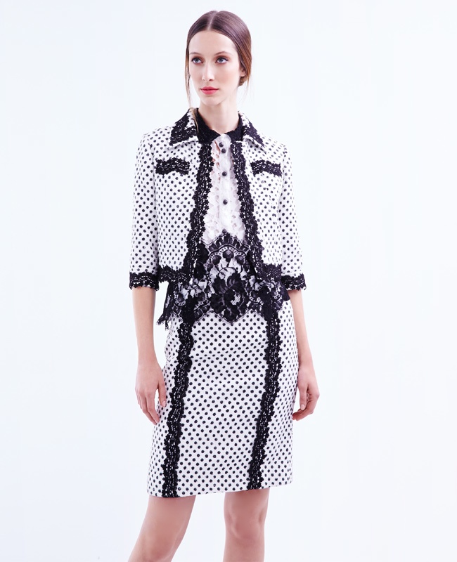 oscar renta neiman marcus3 Alana Zimmer is a Vision in Oscar de La Renta for Neiman Marcus