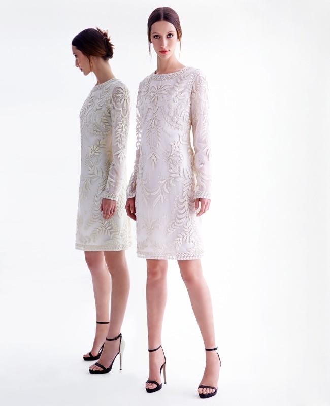 Alana Zimmer is a Vision in Oscar de La Renta for Neiman Marcus