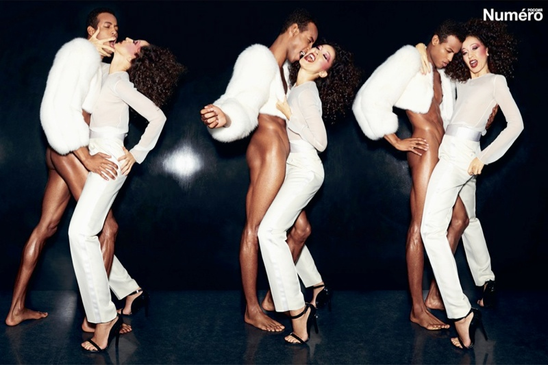 Legendary Pat Cleveland is Smoking Hot in Numero Russia, Shot by Tom Ford