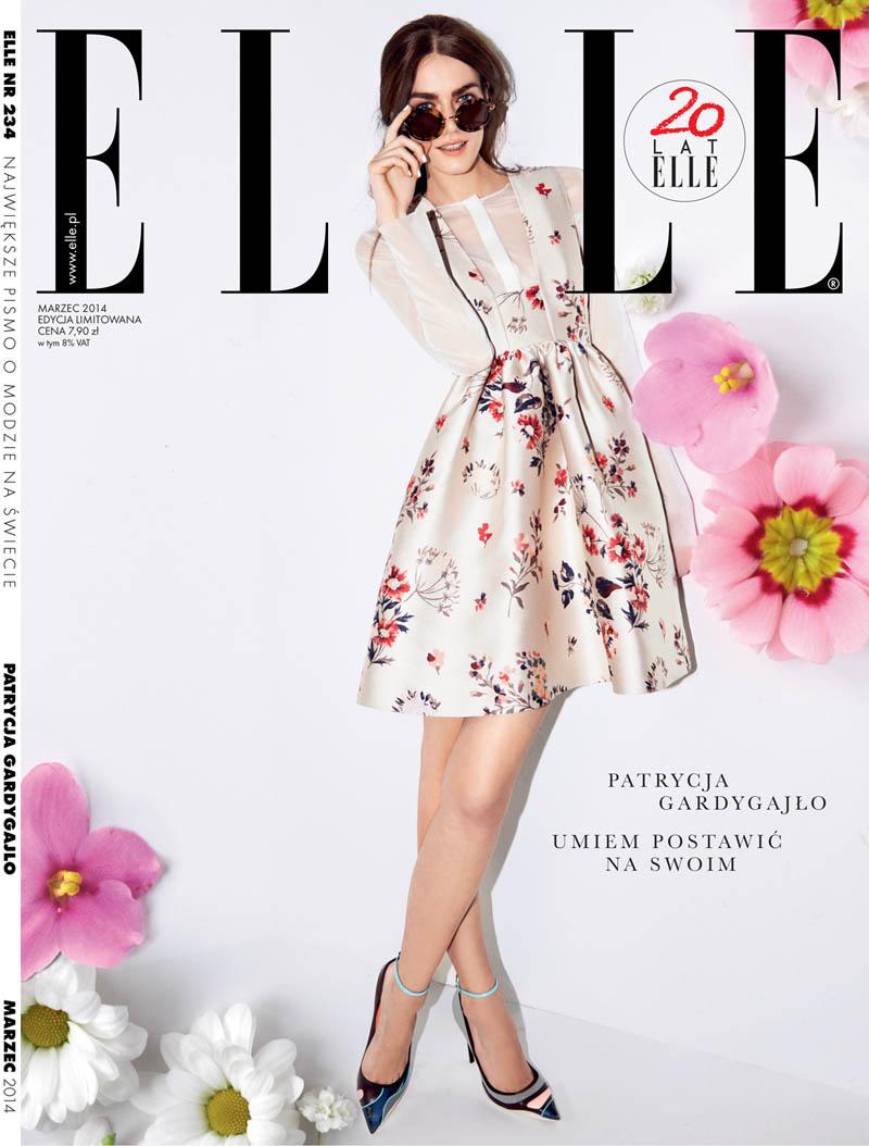patrycja gardygajlo13 Patrycja Gardygajlo Lands Elle Poland Cover Story by Marcin Kempski