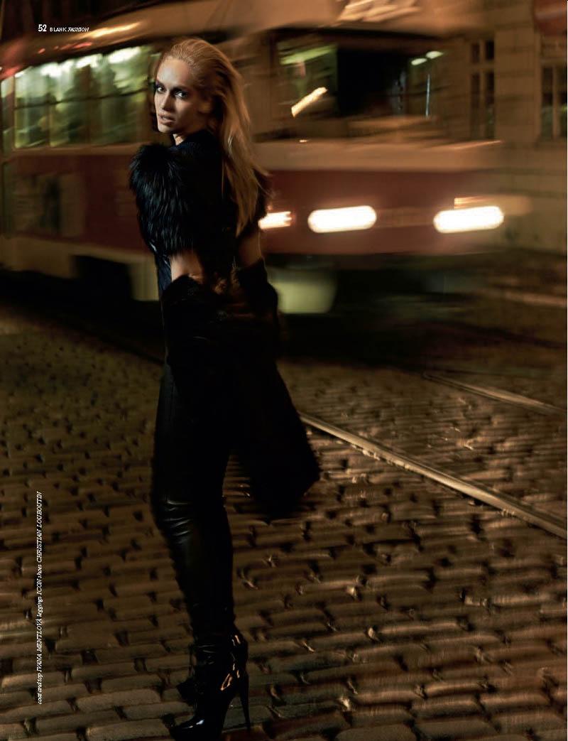 Night in Prague: Tatana Kucharova Poses for Paul de Luna in BLANK