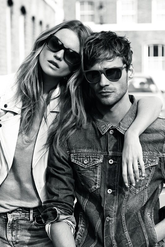 pepe jeans spring 2014 campaign5 Behati Prinsloo Stars in Pepe Jeans London Spring/Summer 2014 Campaign