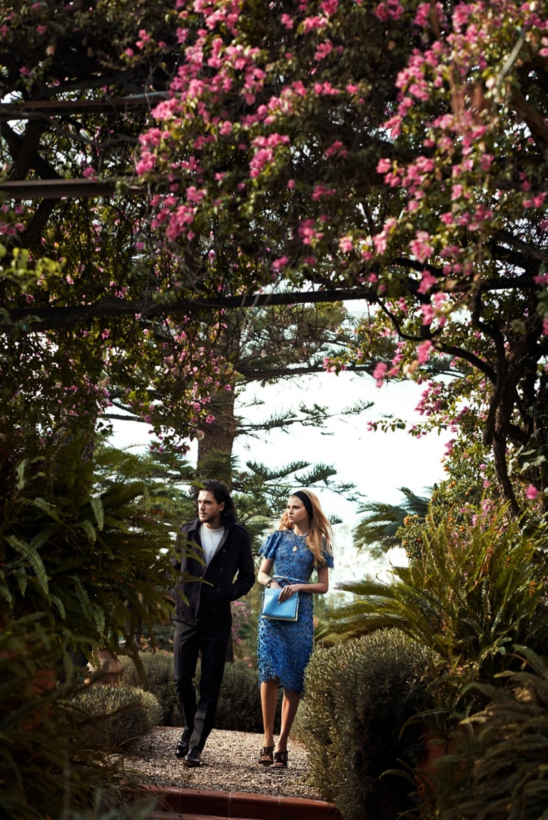 peter lindbergh photographs8 Lara Stone + Kit Harington Cozy Up for Vogue Spread by Peter Lindbergh