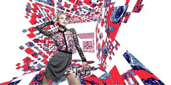 Jourdan, Jessica, Yumi + Daniela Front Peter Pilotto for Target Campaign