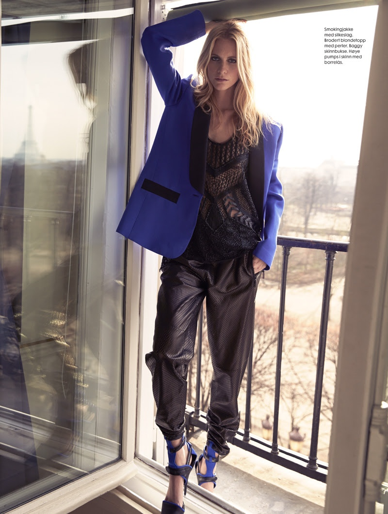 poppy delevingne emilio pucci4 Poppy Delevingne Gets Pucci Glam for Elle Norway by Asa Tallgard