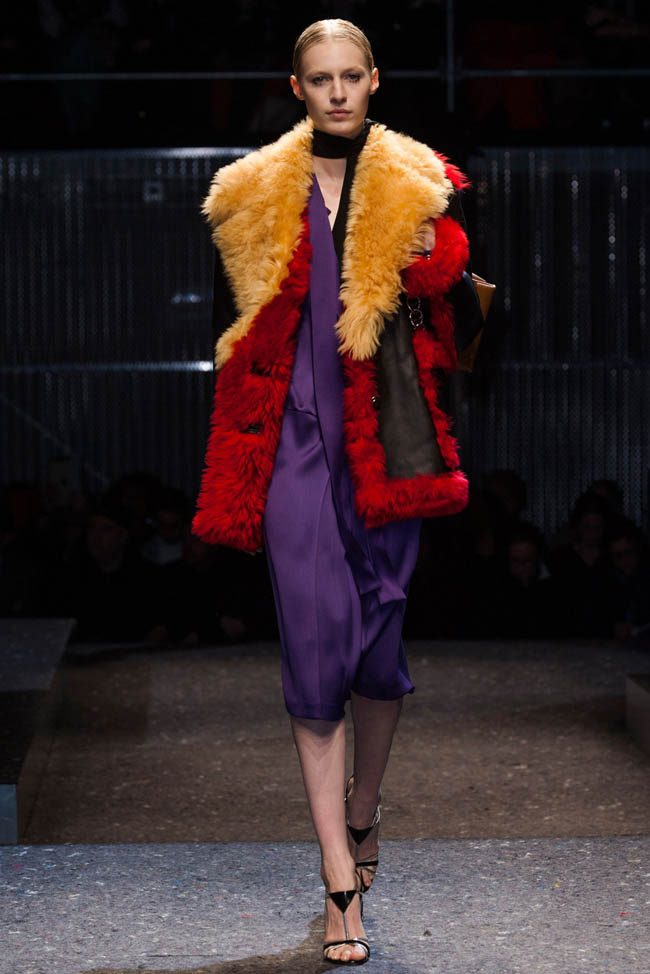 prada fall winter 2014 show9 Prada Fall/Winter 2014 | Milan Fashion Week