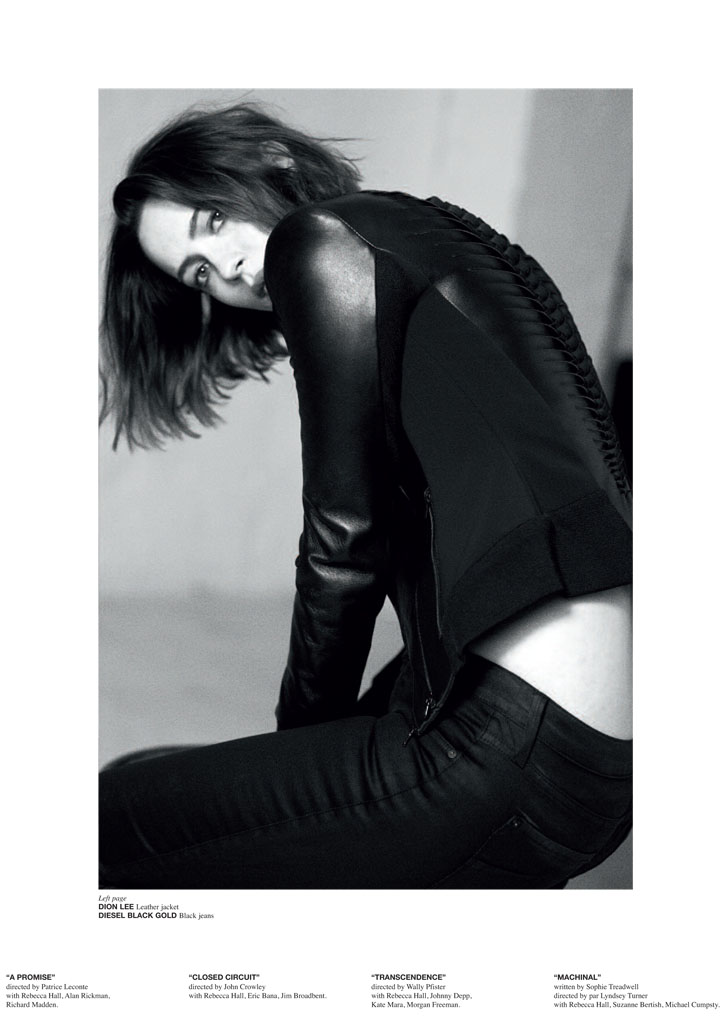 rebecca hall pictures3 Rebecca Hall Poses for Blossom Berkofsky in CRASH Magazine
