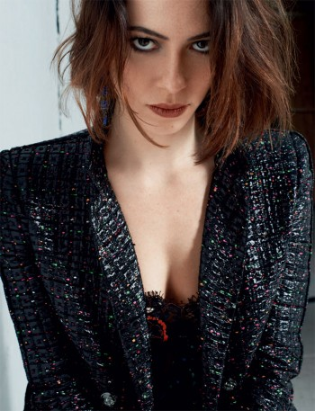 Rebecca Hall Poses for Blossom Berkofsky in CRASH Magazine