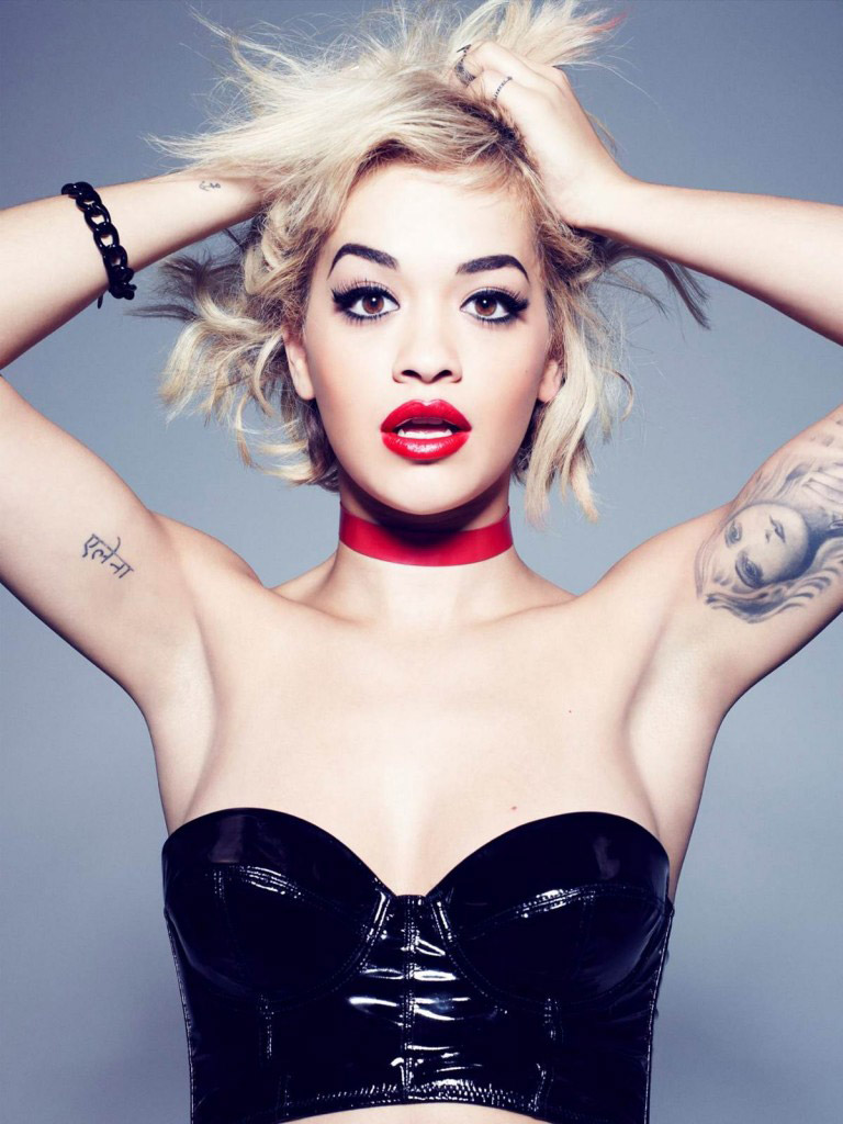 rimmel rita ora 2014 1 Rita Ora Works with Rimmel London on Cosmetics Line