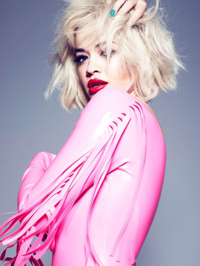 rimmel rita ora 2014 2 Rita Ora Works with Rimmel London on Cosmetics Line