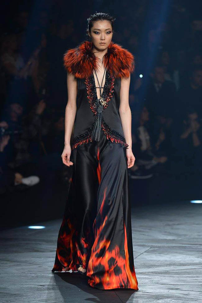 roberto cavalli fall winter 2014 show36 Roberto Cavalli Fall/Winter 2014 | Milan Fashion Week