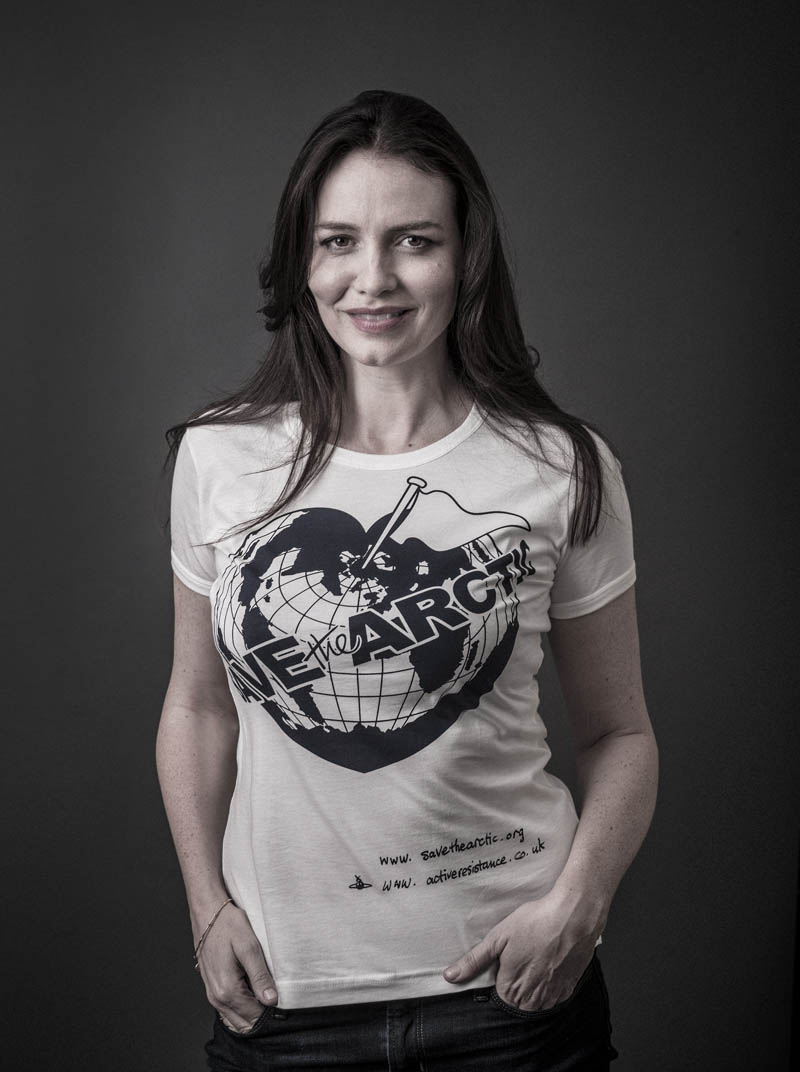 safron burrows Vivienne Westwood Enlists Georgia May, Jerry Hall + More for 'Save the Arctic' Campaign