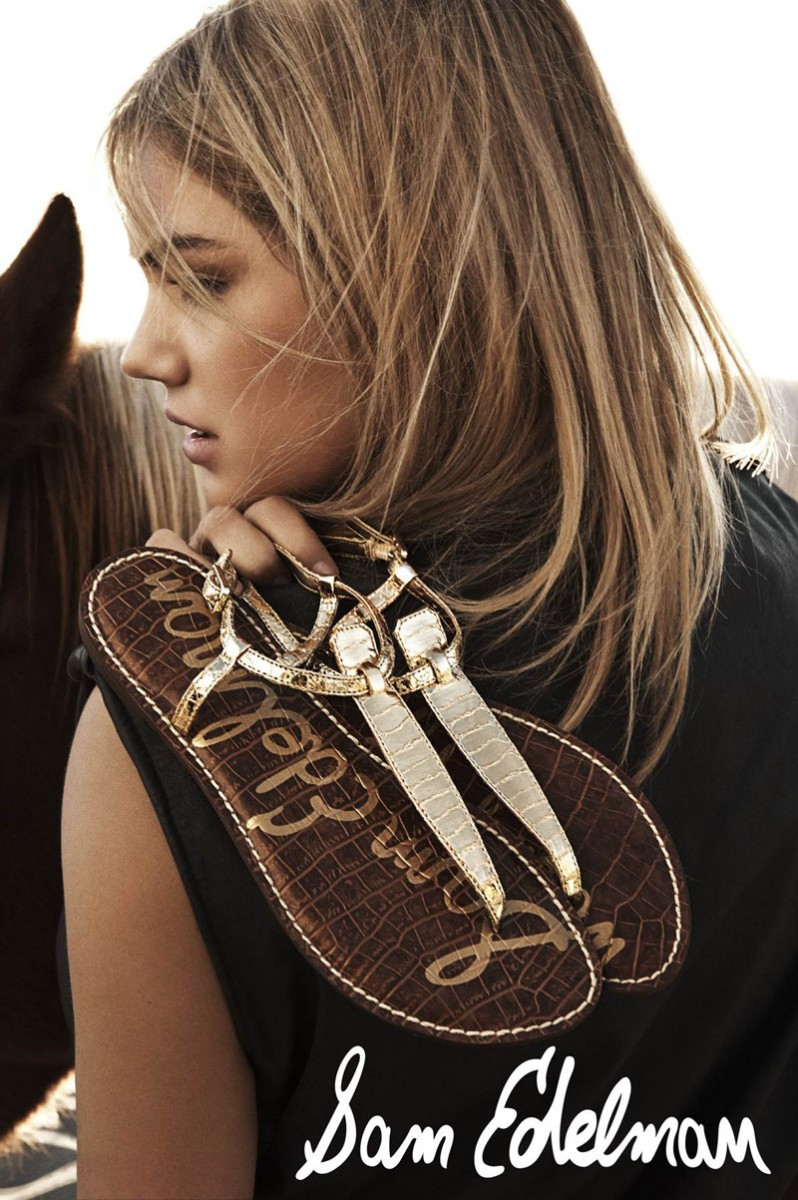 Kate Upton Gets Beachy for Sam Edelman's Spring 2014 Campaign