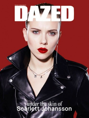 Scarlett Johansson Gets Rebellious for Dazed's Spring 2014 Cover