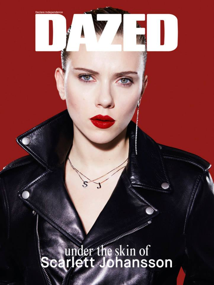 scarlett dazed2 Scarlett Johansson Gets Rebellious for Dazeds Spring 2014 Cover