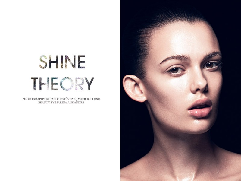 "Sarah Dick by Pablo Estévez & Javier Belloso in ""Shine Theory"" for Fashion Gone Rogue"