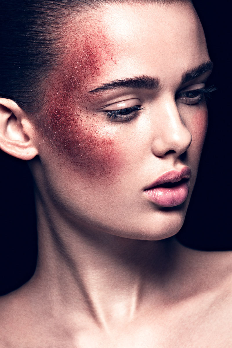 """Sarah Dick by Pablo Estévez & Javier Belloso in """"Shine Theory"""" for Fashion Gone Rogue"""