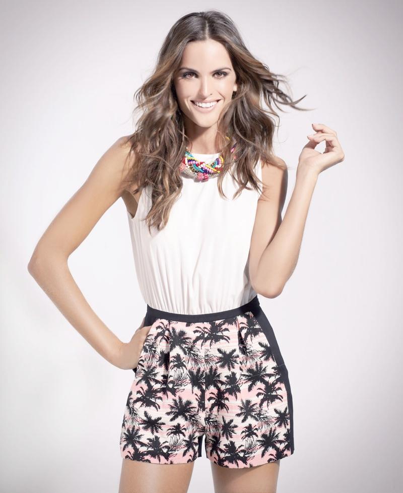 Izabel Goulart Fronts SuiteBlanco Tropico Spring 2014 Campaign