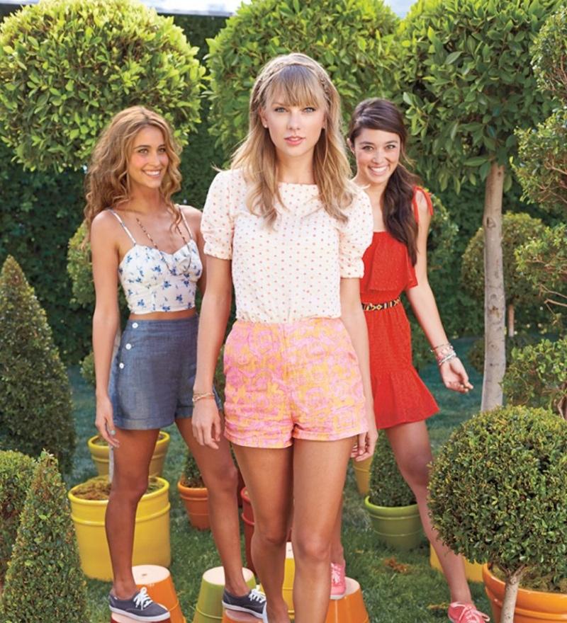 Taylor Swift Models Her Keds Spring 2014 Line