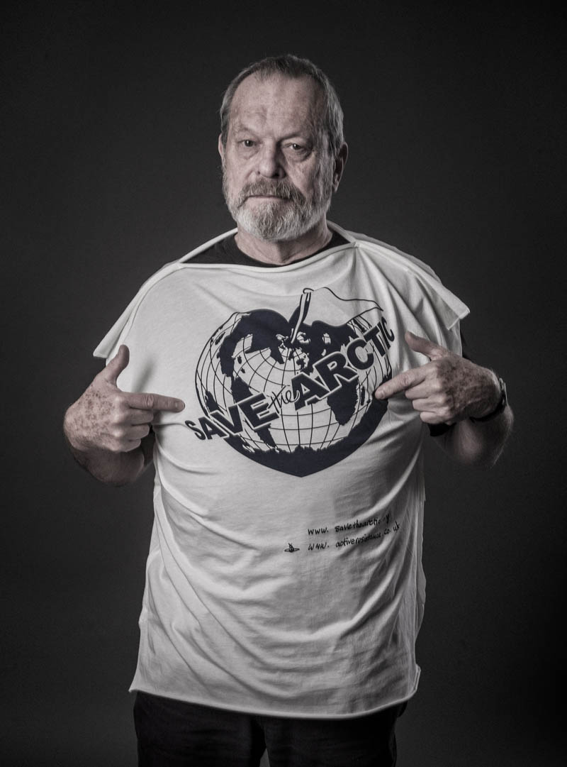terry gilliam Vivienne Westwood Enlists Georgia May, Jerry Hall + More for 'Save the Arctic' Campaign
