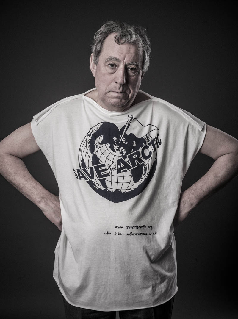 terry jones Vivienne Westwood Enlists Georgia May, Jerry Hall + More for 'Save the Arctic' Campaign